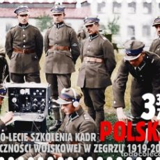Sellos: ⚡ DISCOUNT POLAND 2019 THE 100TH ANNIVERSARY OF MILITARY COMMUNICATIONS PERSONNEL IN ZEGRZE M. Lote 262869805