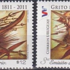 Sellos: ⚡ DISCOUNT URUGUAY 2011 THE 200TH ANNIVERSARY OF INDEPENDENCE MNH - WEAPON. Lote 262872495