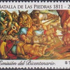 Sellos: ⚡ DISCOUNT URUGUAY 2011 THE 200TH ANNIVERSARY OF THE BATTLE OF LAS PIEDRAS MNH - WARS. Lote 262872605