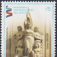 Sellos: ⚡ DISCOUNT URUGUAY 2013 TJHE 200TH ANNIVERSARY OF THE INSTRUCTIONS OF YEAR XIII MNH - MONUME. Lote 262873400