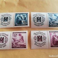 Sellos: ANTIGUO SELLO ALEMANIA REICH, NAZI, ESVASTICA CON GOMA. Lote 263476935