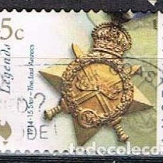 Sellos: AUSTRALIA 1904, PRIMERA GUERRA MUNDIAL, MEDALLA, USADO. Lote 264210264