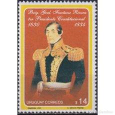 Sellos: ⚡ DISCOUNT URUGUAY 2003 THE 150TH ANNIVERSARY OF THE DEATH OF GENERAL FRUTUOSO RIVERA MNH -. Lote 268836249
