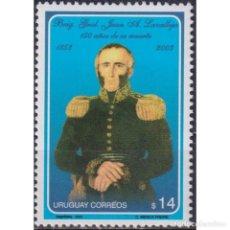 Sellos: ⚡ DISCOUNT URUGUAY 2003 THE 150TH ANNIVERSARY OF THE DEATH OF JUAN ANTONIO LAVALLEJA MNH - M. Lote 268836259