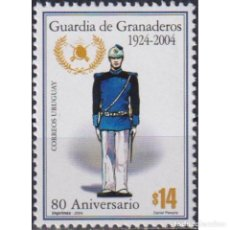 Sellos: ⚡ DISCOUNT URUGUAY 2004 THE 80TH ANNIVERSARY OF GRENADIER GUARDS MNH - MILITARY. Lote 268836294