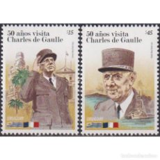Sellos: ⚡ DISCOUNT URUGUAY 2014 THE 50TH ANNIVERSARY OF THE VISIT OF CHARLES DE GAULLE MNH - STATE L. Lote 268836429