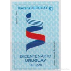 Sellos: ⚡ DISCOUNT URUGUAY 2011 THE 200TH ANNIVERSARY OF INDEPENDENCE MNH - INDEPENDENCE, POLITICS. Lote 270391008