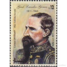 Sellos: ⚡ DISCOUNT URUGUAY 2011 THE 200TH ANNIVERSARY OF THE BIRTH OF LEANDRO GОMEZ MNH - GENERALS,. Lote 270391028