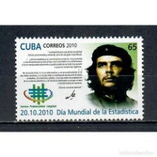 Sellos: ⚡ DISCOUNT CUBA 2010 WORLD STATISTICS DAY - CHE GUEVARA, 1928-1967 MNH - ERNESTO CHEGEVARA. Lote 271364053