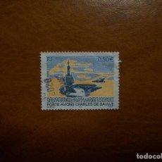 Sellos: /28.07/-FRANCIA-2003-0,50 EUR. Y&T 3557 EN USADO/º/-PORTAVIONES. Lote 277689033