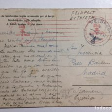 Sellos: POSTAL FELDPOST CORREO DE CAMPAÑA DIVISIÓN AZUL. 1941. Lote 288348623