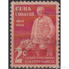 Sellos: ⚡ DISCOUNT CUBA 1939 THE 100TH ANNIVERSARY OF GEN. CALIXTO GARCIA U - MILITARY. Lote 289965458