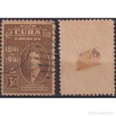 Sellos: ⚡ DISCOUNT CUBA 1940 GENERAL IGNACIO AGRAMONTE LOYNAZ U - MILITARY. Lote 289966053