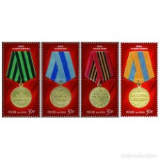 Sellos: ⚡ DISCOUNT RUSSIA 2015 TO THE 70TH ANNIVERSARY OF VICTORY IN THE GREAT PATRIOTIC WAR MNH - M. Lote 295957028