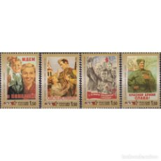 Sellos: ⚡ DISCOUNT RUSSIA 2000 THE 55TH ANNIVERSARY OF VICTORY IN THE WWII MNH - MILITARY, THE SECON. Lote 295970153