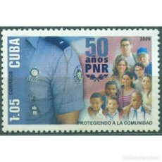 Sellos: ⚡ DISCOUNT CUBA 2009 THE 50TH ANNIVERSARY OF THE POLITICAL POLICE PNR MNH - POLICE. Lote 296026558