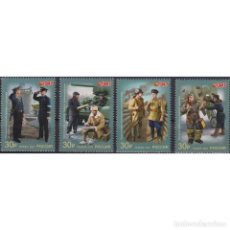 Sellos: ⚡ DISCOUNT RUSSIA 2021 MILITARY UNIFORM OF THE RED ARMY AND NAVY OF THE USSR MNH - THE FORM,. Lote 296064523