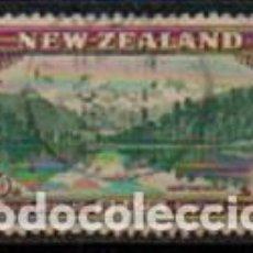 Sellos: NUEVA ZELANDA IVERT Nº 272 (AÑO 1946), CONMEMORACIÓN DE LA PAZ, FIN DE LA 2ª GUERRA MUNDIAL, USADO. Lote 296710293