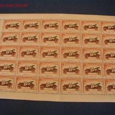 Sellos: MINI PLIEGO DE 30 SELLOS - MONACO- 1961. Lote 21889723