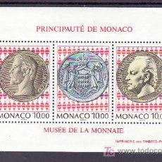 Sellos: MONACO HB 66 SIN CHARNELA, INAUGURACION DEL MUSEO DE SELLOS Y MONEDAS,. Lote 11858560