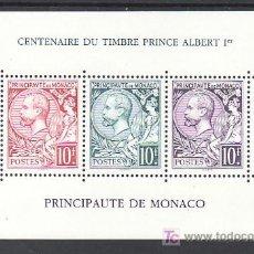 Sellos: MONACO HB 53 SIN CHARNELA, CENTENARIO DE LA EMISION DE LA EFIGIE DEL PRINCIPE ALBERTO I,. Lote 31338635