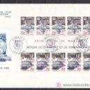 Sellos: MONACO HB 41 PRIMER DIA, TEMA EUROPA 1988, FF.CC., TRANSPORTE Y COMUNICACION, . Lote 11026065