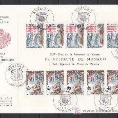 Sellos: MONACO HB 22 PRIMER DIA, TEMA EUROPA 1982, HECHOS HISTORICOS,. Lote 11232093