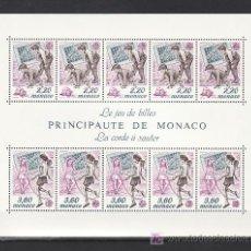 Sellos: MONACO HB 46 SIN CHARNELA, TEMA EUROPA 1989, JUEGOS INFANTILES,. Lote 10826030