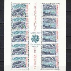 Sellos: MONACO HB 37 SIN CHARNELA, TEMA EUROPA 1987, DEPORTE, NATACION ESTADIO LUIS II, ARQUITECTURA MODERNA. Lote 10826052