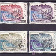 Sellos: MONACO PRE-OBLITERADO 34/7 SIN CHARNELA, DEPORTE, PISCINA RAINIERO III, SOBRECARGADO, . Lote 11405891