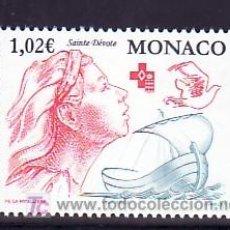 Sellos: MONACO 2354 SIN CHARNELA, BARCO, CRUZ ROJA DE MONACO,. Lote 11417114