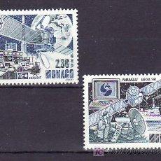 Sellos: MONACO 1768/9 SIN CHARNELA, TEMA EUROPA 1991, EUROPA Y EL ESPACIO, EUTELSAT, INMARSAT, . Lote 11425131