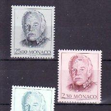Sellos: MONACO 1705/7 SIN CHARNELA, MONARQUIA, EFIGIE RAINIERO III, . Lote 11425249