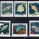 Sellos: MONACO 1615/20 SIN CHARNELA, FAUNA, PECES DEL MUSEO OCEANOGRAFICO DE MONACO, . Lote 11427029