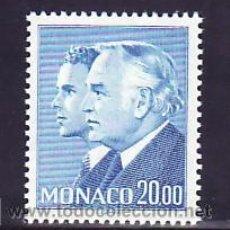 Sellos: MONACO 1614 SIN CHARNELA, MONARQUIA, PRINCIPES RAINIERO III Y ALBERTO, . Lote 11427043