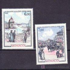 Sellos: MONACO 1611/2 SIN CHARNELA, PINTURAS HACIA 1925 . Lote 11427061