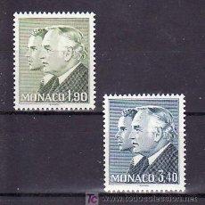 Sellos: MONACO 1538/9 SIN CHARNELA, MONARQUIA, PRINCIPES RAINIERO III Y ALBERTO, . Lote 11427822