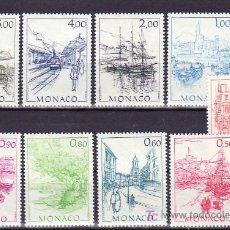 Sellos: MONACO 1510/8 SIN CHARNELA, PINTURA, OBRAS DE HUBERT CLERISSI, . Lote 11440455