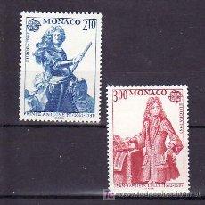 Sellos: MONACO 1459/60 SIN CHARNELA, TEMA EUROPA 1985, AÑO EUROPEO DE LA MUSICA, . Lote 11440625