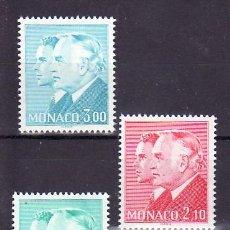 Sellos: MONACO 1430/2 SIN CHARNELA, MONARQUIA, PRINCIPES RAINIERO III Y ALBERTO,. Lote 11440932