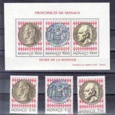Sellos: MONACO 1945/7, HB 66 SIN CHARNELA, INAUGURACION MUSEO DEL SELLO Y LA MONEDA,. Lote 11441702