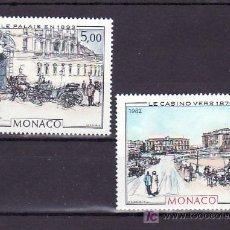 Sellos: MONACO 1340/1 SIN CHARNELA, PINTURA, CASINO DE MONTE-CARLO, PUERTA DE HONOR DEL PALACIO, . Lote 11456103