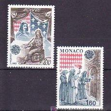 Sellos: MONACO 1322/3 SIN CHARNELA, TEMA EUROPA 1982, HECHOS HISTORICOS,. Lote 11460452