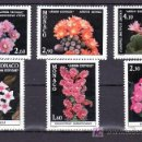 Sellos: MONACO 1306/11 SIN CHARNELA, FLORES, PLANTAS DEL JARDIN EXOTICO, . Lote 11460512