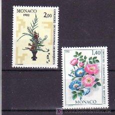 Sellos: MONACO 1295 SIN CHARNELA, FLORES, CONCURSO INTERNACIONAL DE BOUQUETS, RAMOS, EN MONTE-CARLO, . Lote 11460851