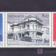 Sellos: MONACO 1564A SIN CHARNELA, 50º ANIVERSARIO DE LA O.E.T.P., MONARQUIA, RAINIERO III, LUIS II, . Lote 11441590