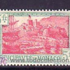 Sellos: MONACO 102 CON CHARNELA, BARCO, PUERTO DE MONACO, . Lote 11780187