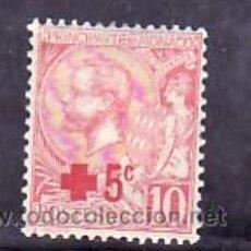 Sellos: MONACO 26 CON CHARNELA, SOBRECARGADO, CRUZ ROJA,. Lote 11780737