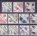Sellos: MONACO 453/68, AEREO 61/2 SIN CHARNELA, 469/72 CON CHARNELA, SOBRECARGADO, MEDIOS DE TRANSPORTE, . Lote 11737172