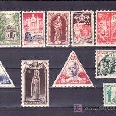 Sellos: MONACO 353/64 CON CHARNELA, RELIGION, AÑO SANTO, SAN VICENTE DE PAUL, . Lote 11753103